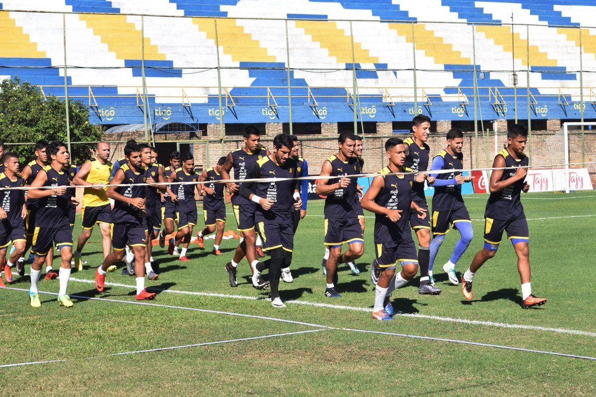 El Auriazul se prepara para enfrentar a Olimpia. Foto: @SpLuquenOficial