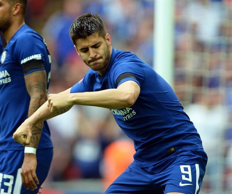 Chelsea se cita con el United en la final de la FA Cup. Foto: EFE