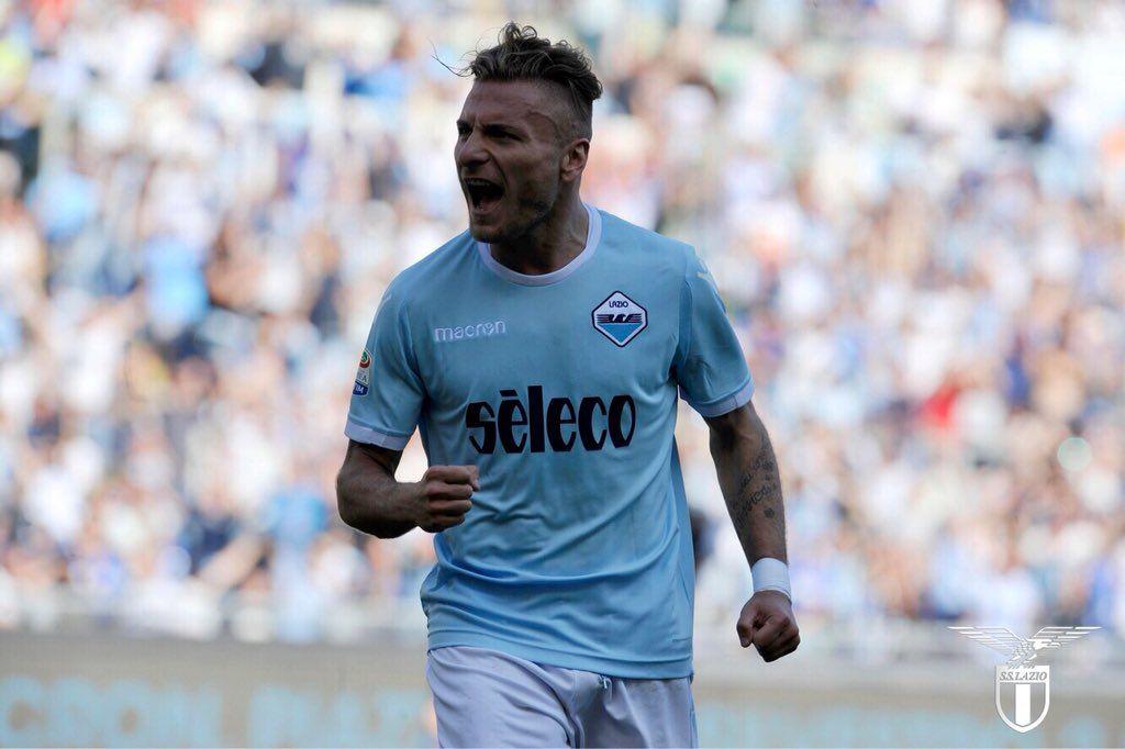 Lazio goleó hoy 4-0 al Sampdoria. Foto: @OfficialSSLazio