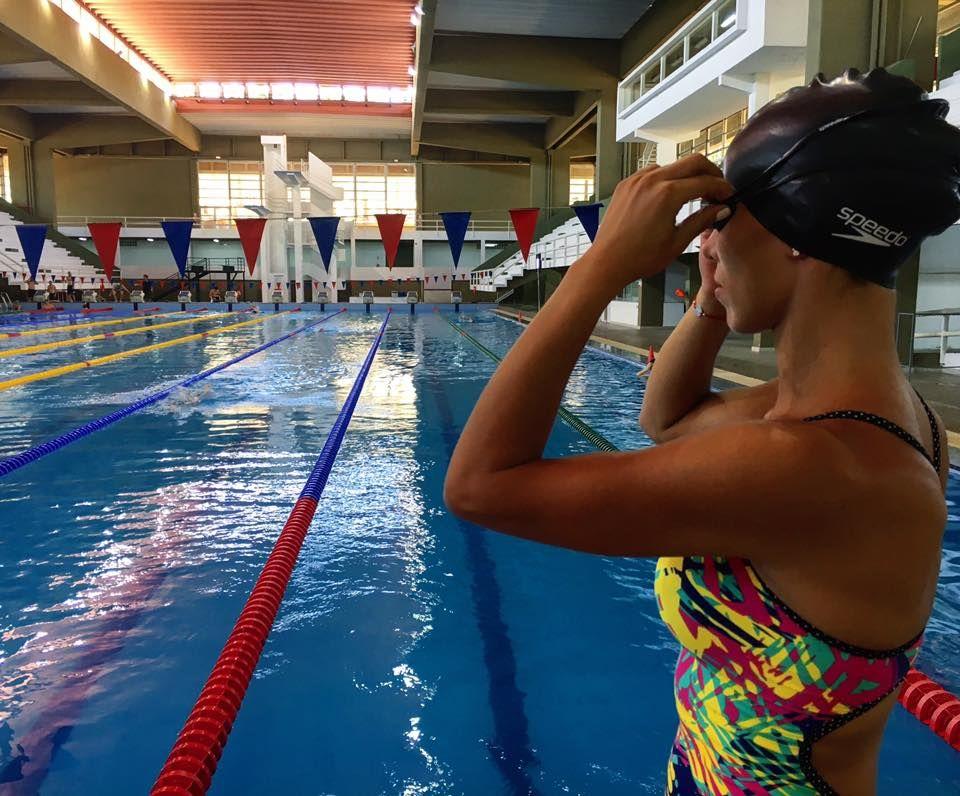 Nadadores se preparan para la 1° Copa Apunto. Foto: Gentileza