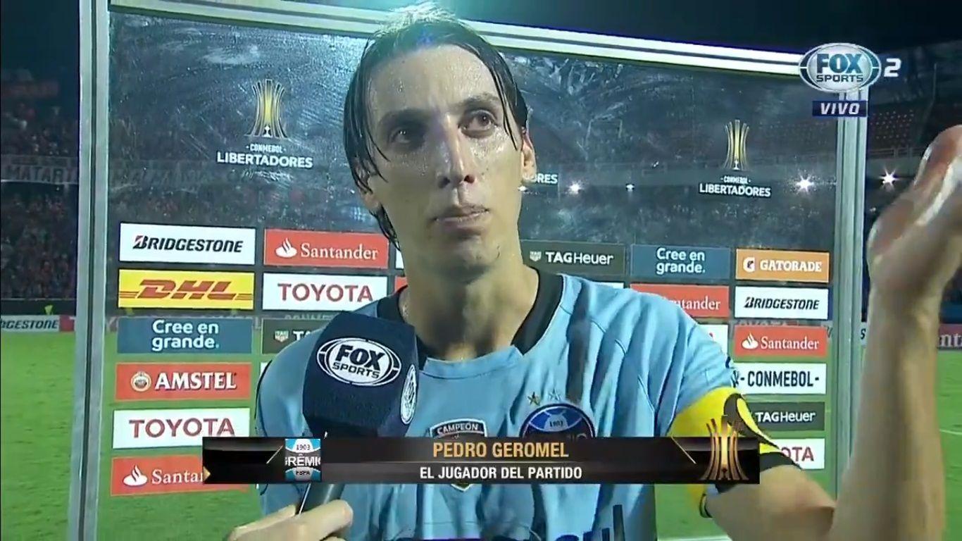 Geromel destacó a la hinchada de Cerro.