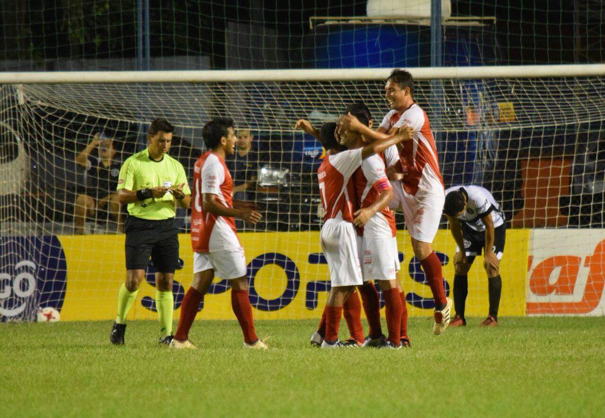 Colegiales se impuso a Olimpia de Itá. Foto: APF Oficial