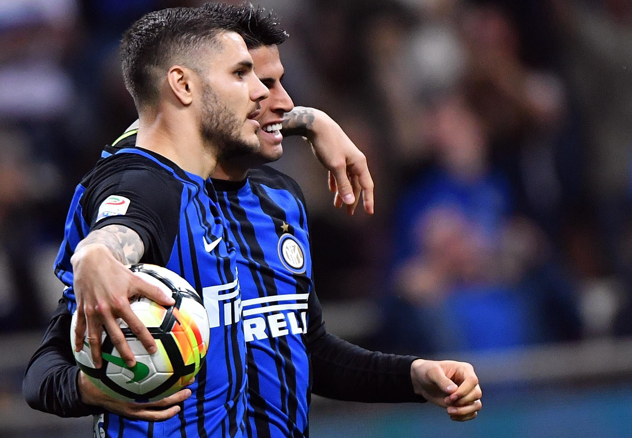 El Inter goleó y alcanzó la tercera plaza. Foto: EFE