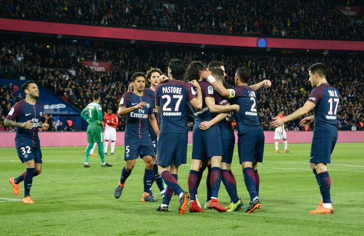 PSG consiguió el título en Francia. Foto: @Ligue1Conforama