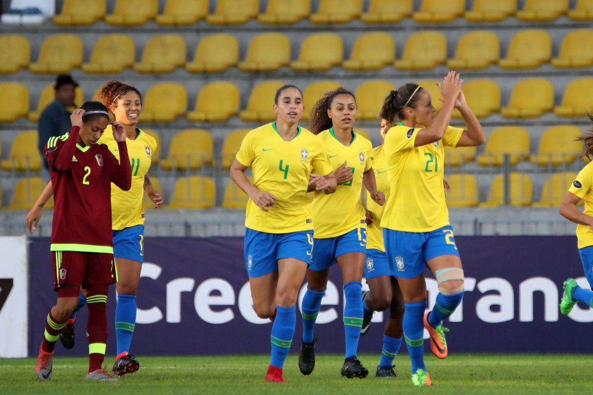 Brasil golea a Venezuela y asegura pase a la ronda final. Foto:@CONMEBOL