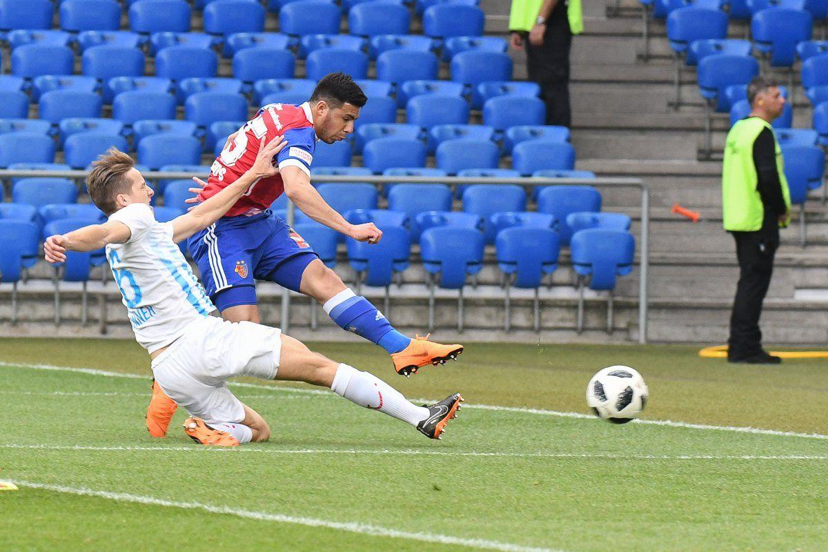 El paraguayo se hizo sentir en Suiza. Foto: @FCBasel