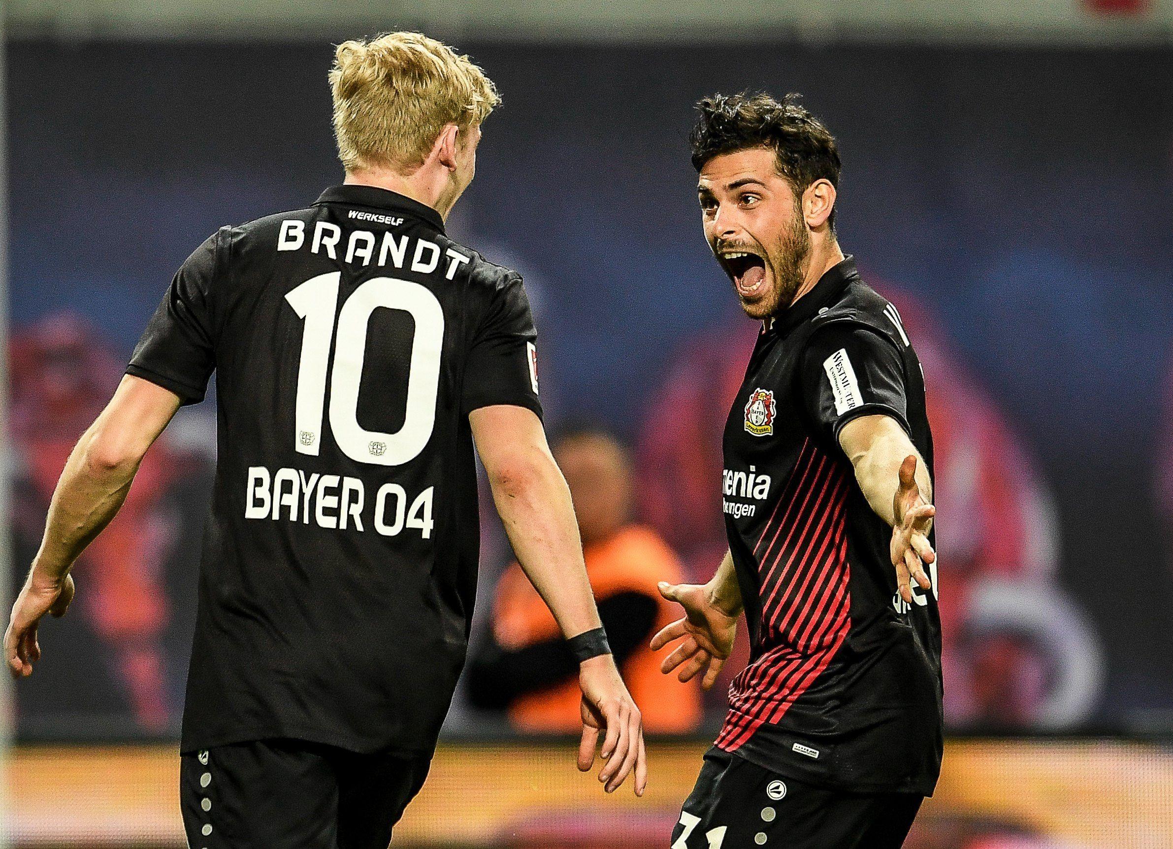 El Leverkusen regresa a puestos de Liga de Campeones tras golear al Leipzig.