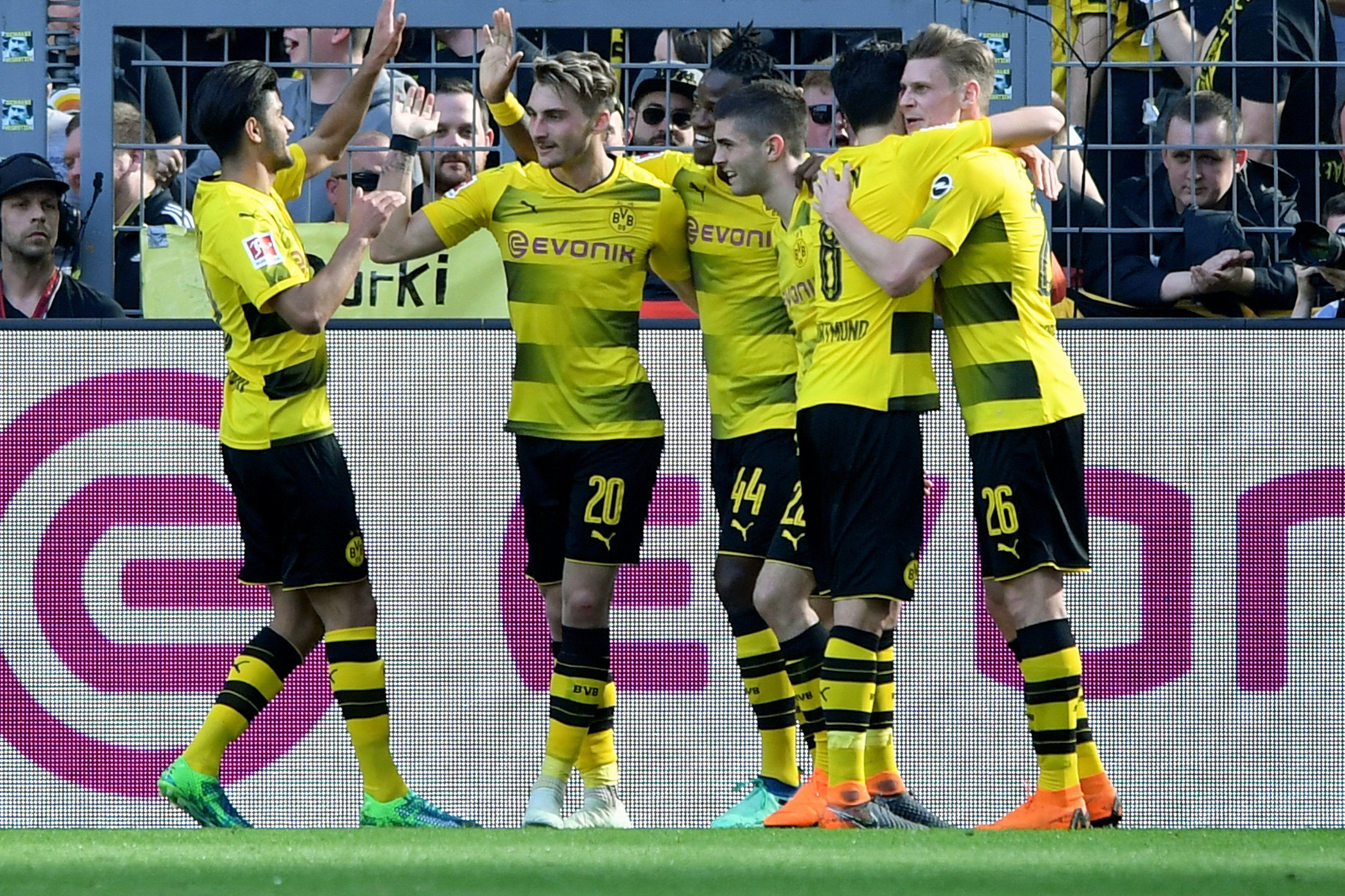 El Dortmund logró un valioso triunfo. Foto: EFE