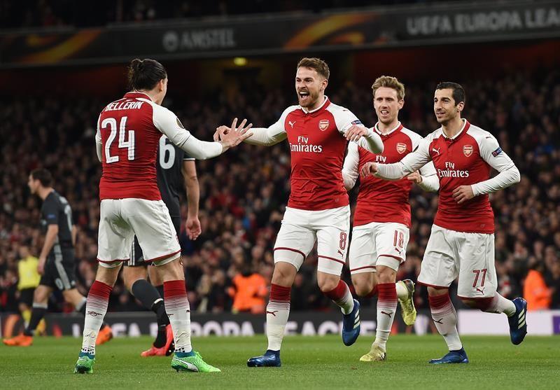 Arsenal afianza su posición europea tras remontar al Southampton. Archivo EFE