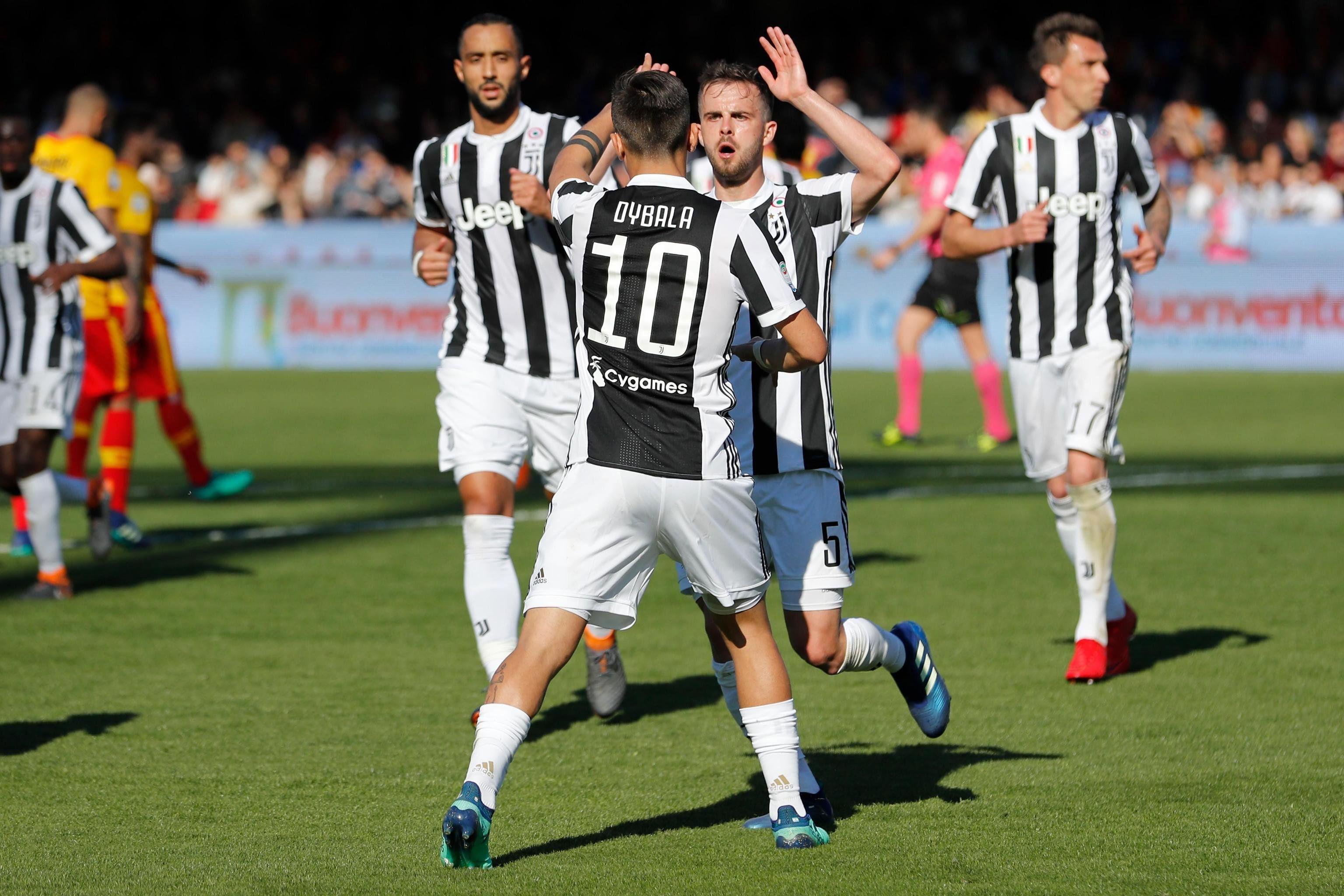 La Juve ganó y ahora piensa en el Real Madrid. Foto: EFE