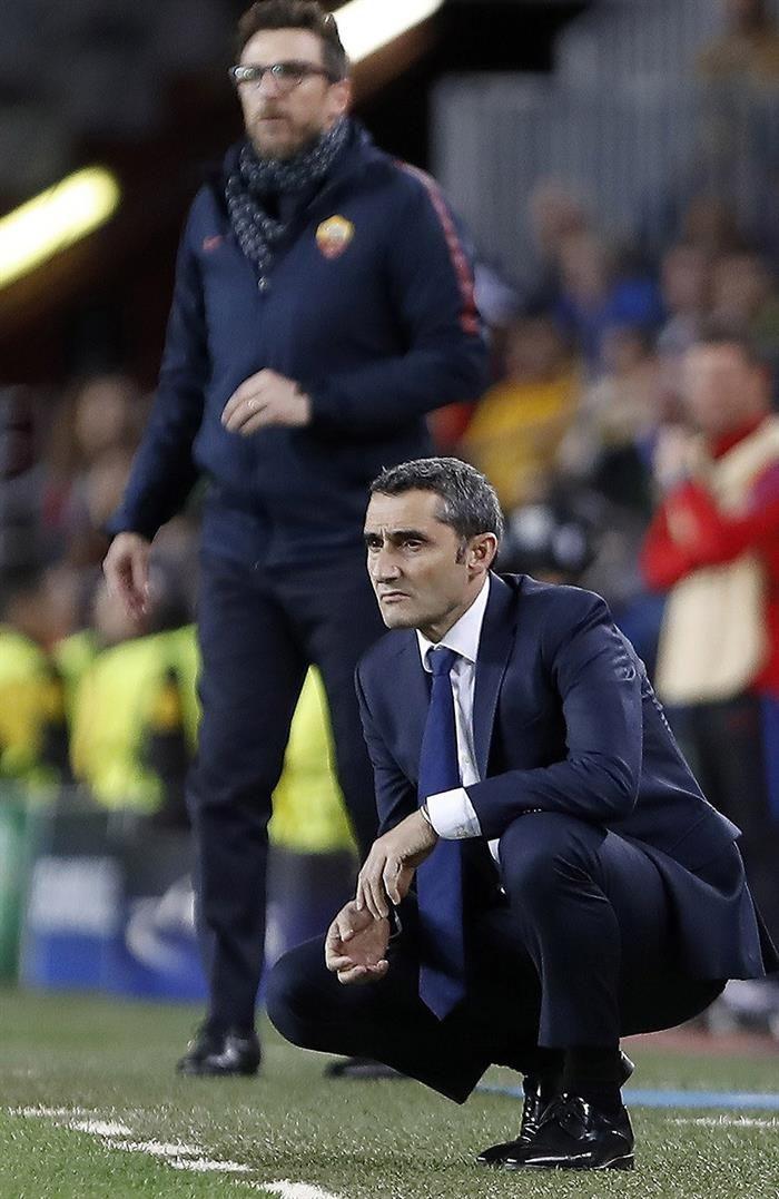 Valverde opinó sobre la victoria ante Roma. Foto: EFE