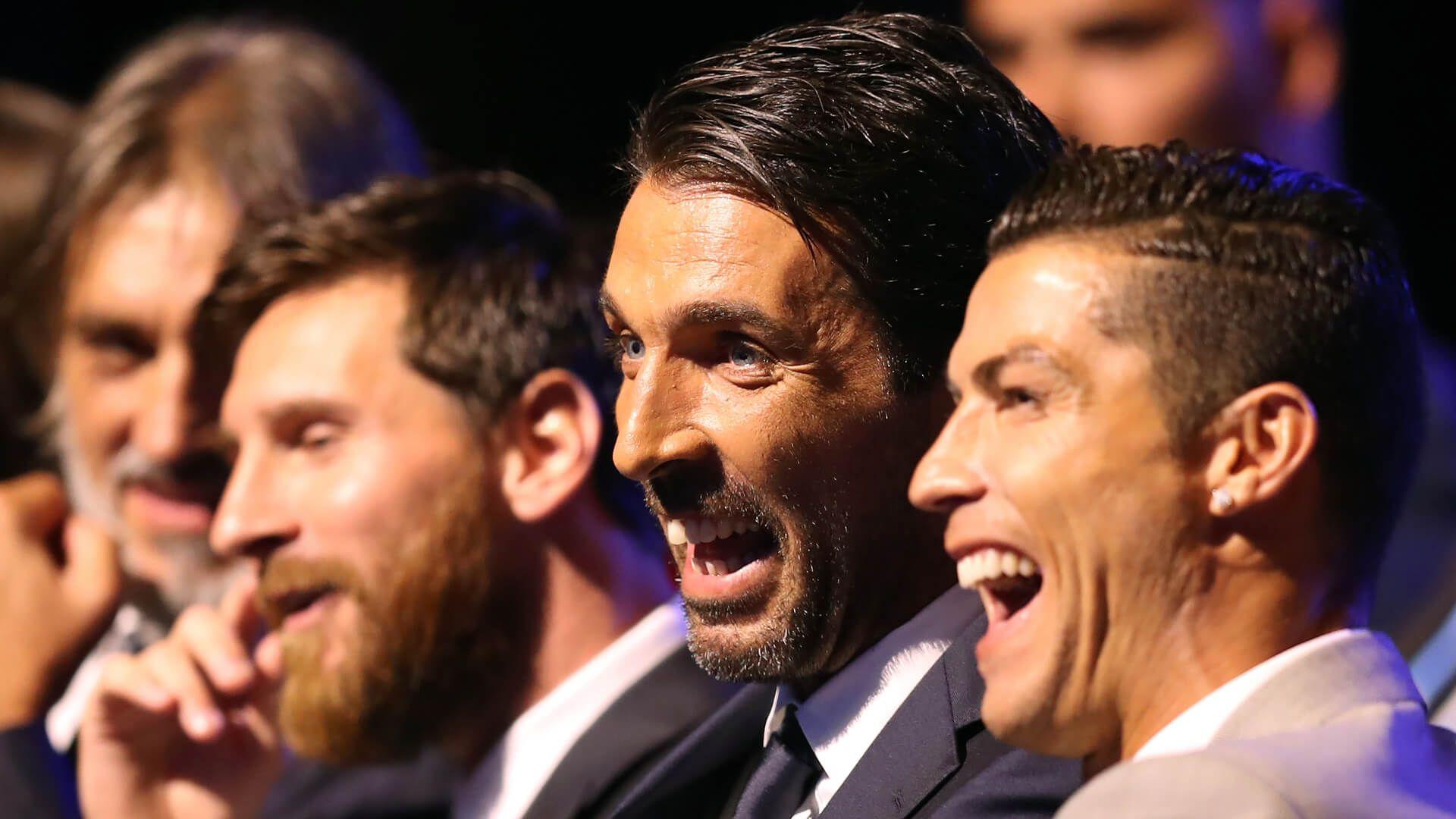 Buffon dice que admira ilimitadamente a Cristiano.