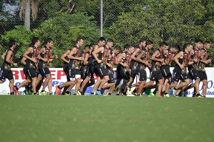 Santaní se prepara para recibir al puntero Nacional. Foto: Prensa Deportivo Santaní