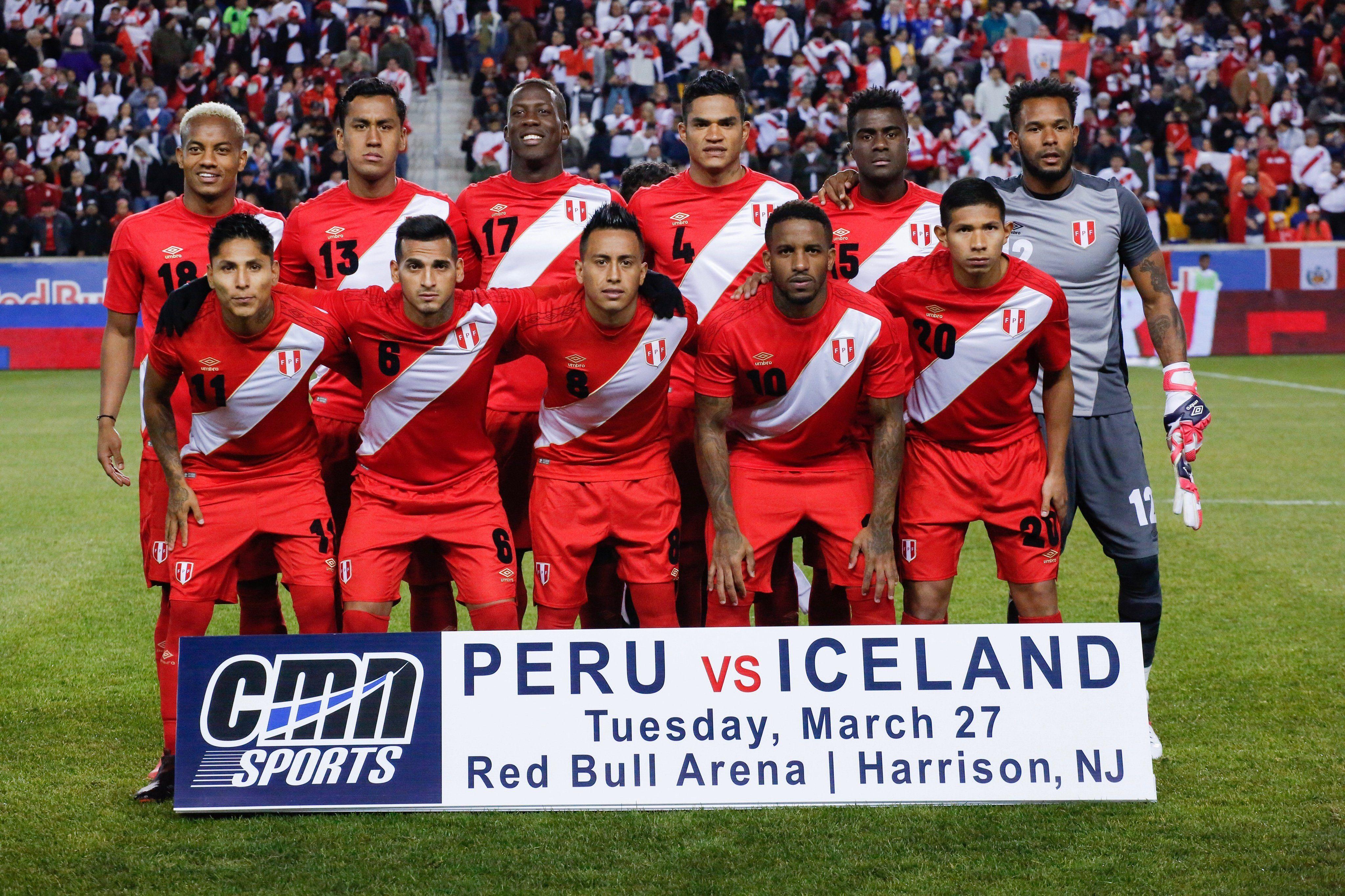 Perú viene de vencer por 3-1 a Islandia. Foto: EFE