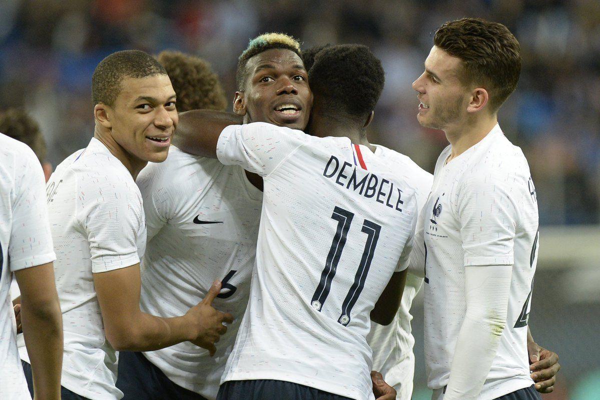 Alegría francesa. Foto: Uefa.com