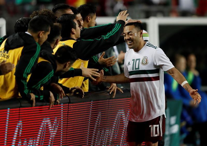 Marco Fabián asegura que hay confianza en México. Foto: EFE