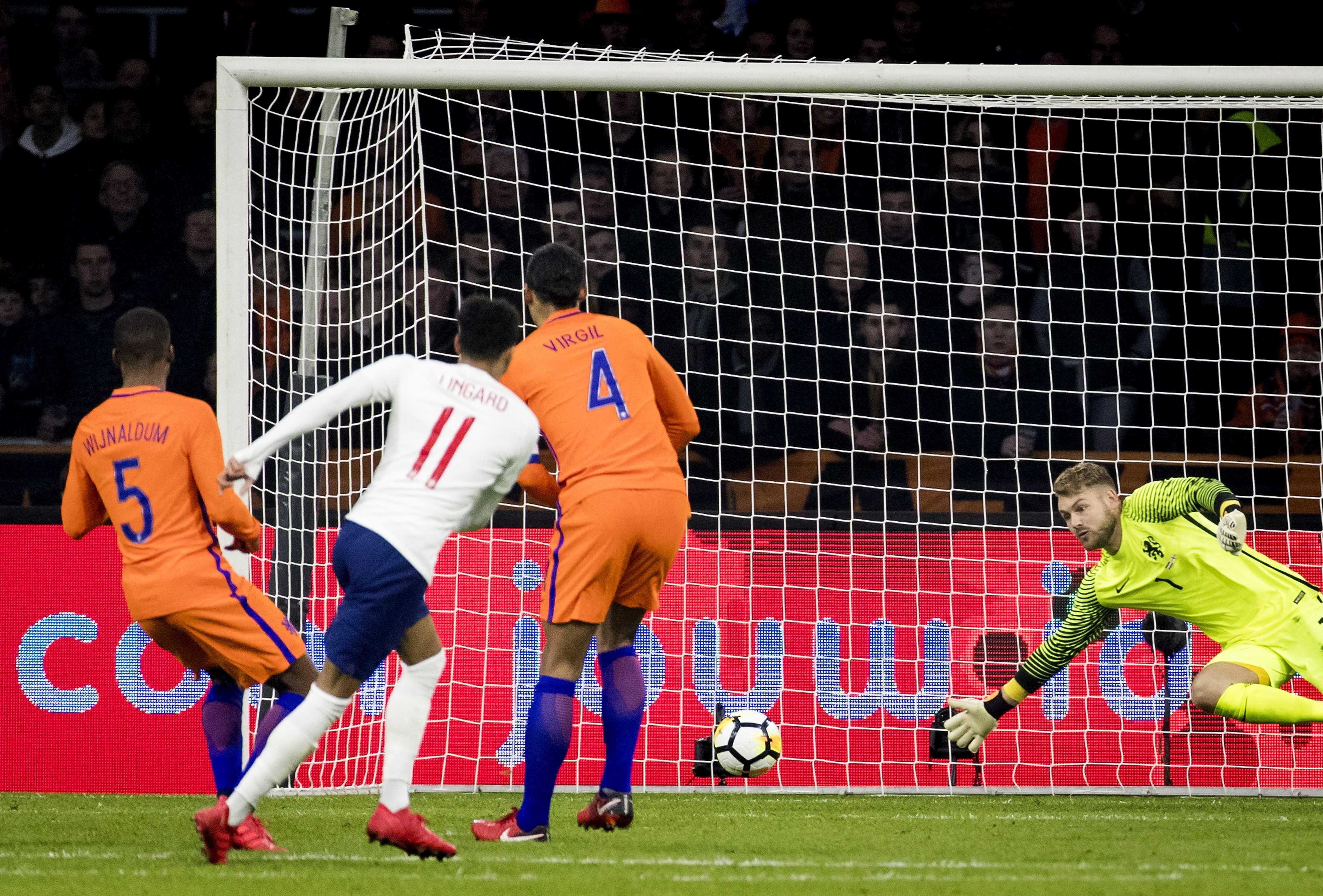 Inglaterra venció a Holanda. Foto: EFE