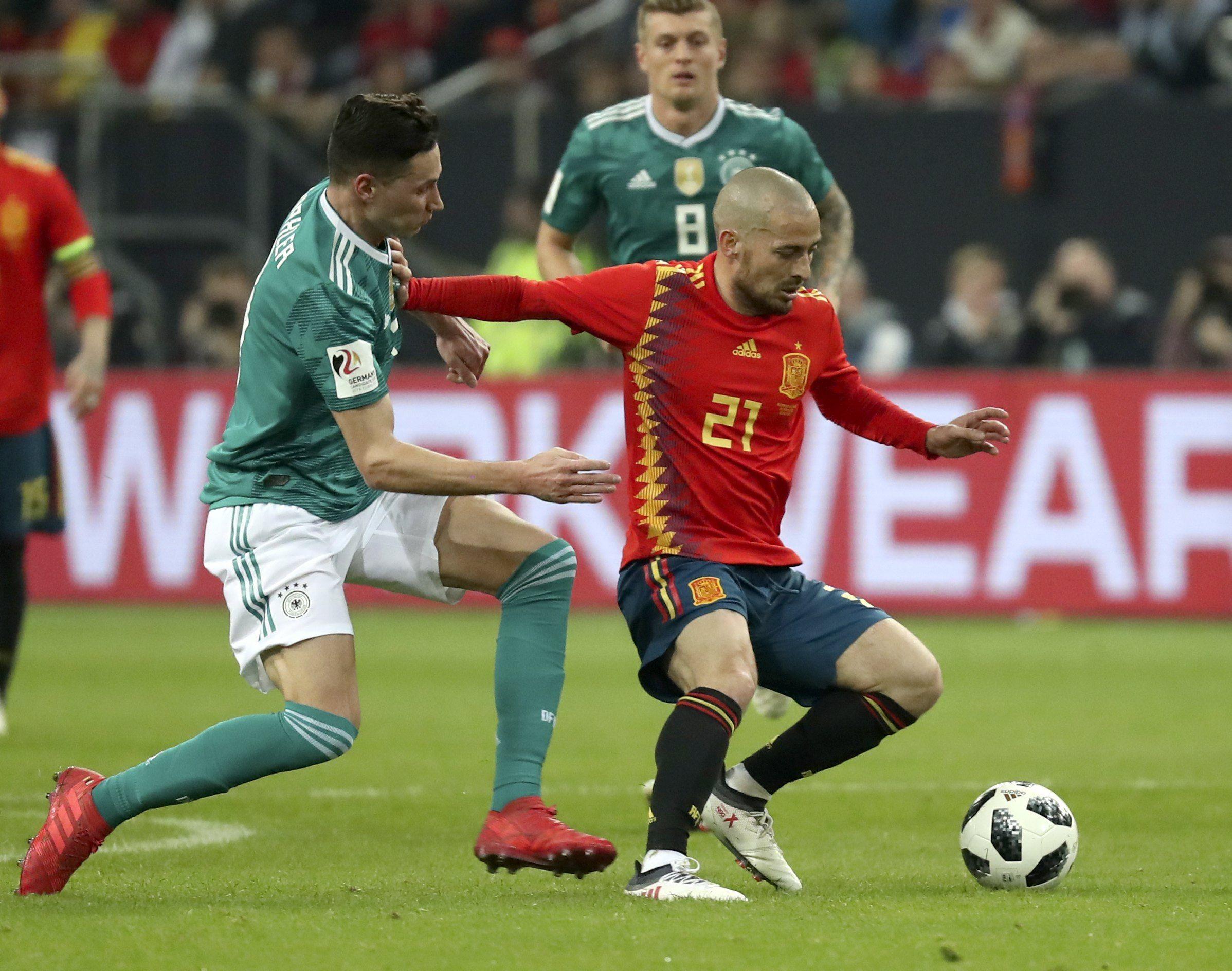 Hubo paridad entre Alemania y España.