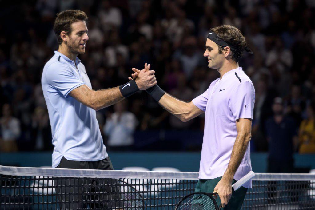 Federer quiere revancha ante el argentino Del Potro.