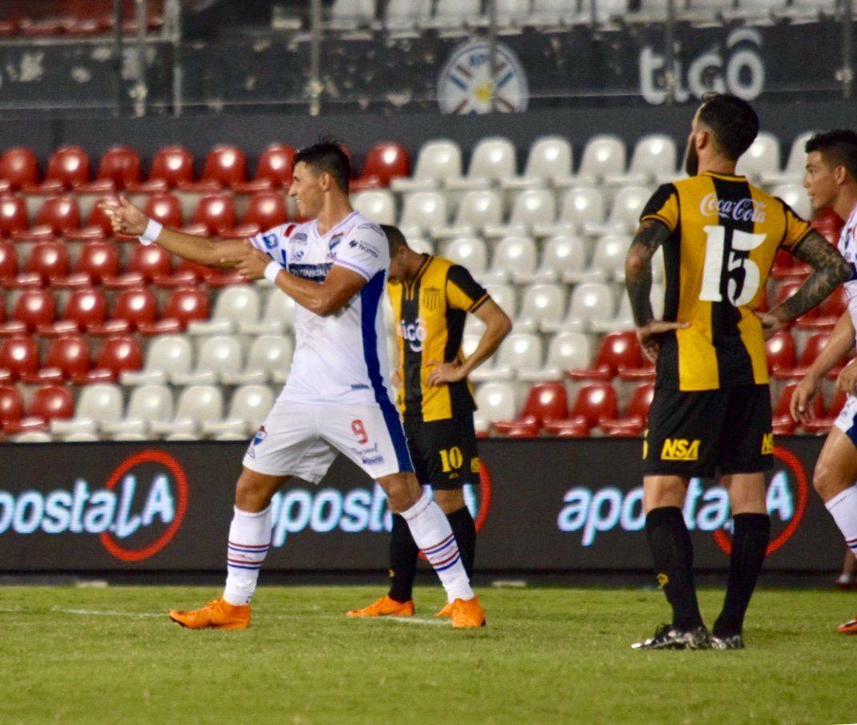 Adam Bareiro marcó dos goles. Foto: APF Oficial