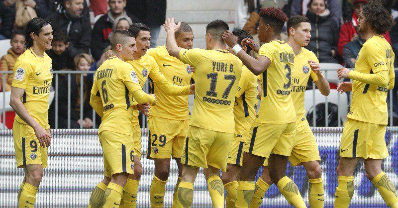 Di María y Alves llevan al Paris Saint Germain a la remontada en Niza. Foto: PSG_inside