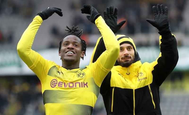 Dortmund se impuso por la mínima al Hannover. Foto: EFE