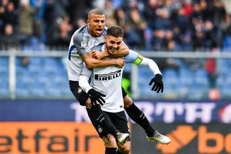 El argentino marcó un doblete frente al Sampdoria. Foto: EFE