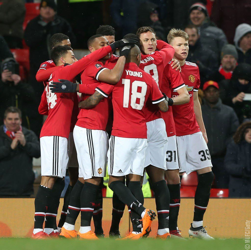 El conjunto Rojo avanzó en la FA Cup. Foto: @ManUtd