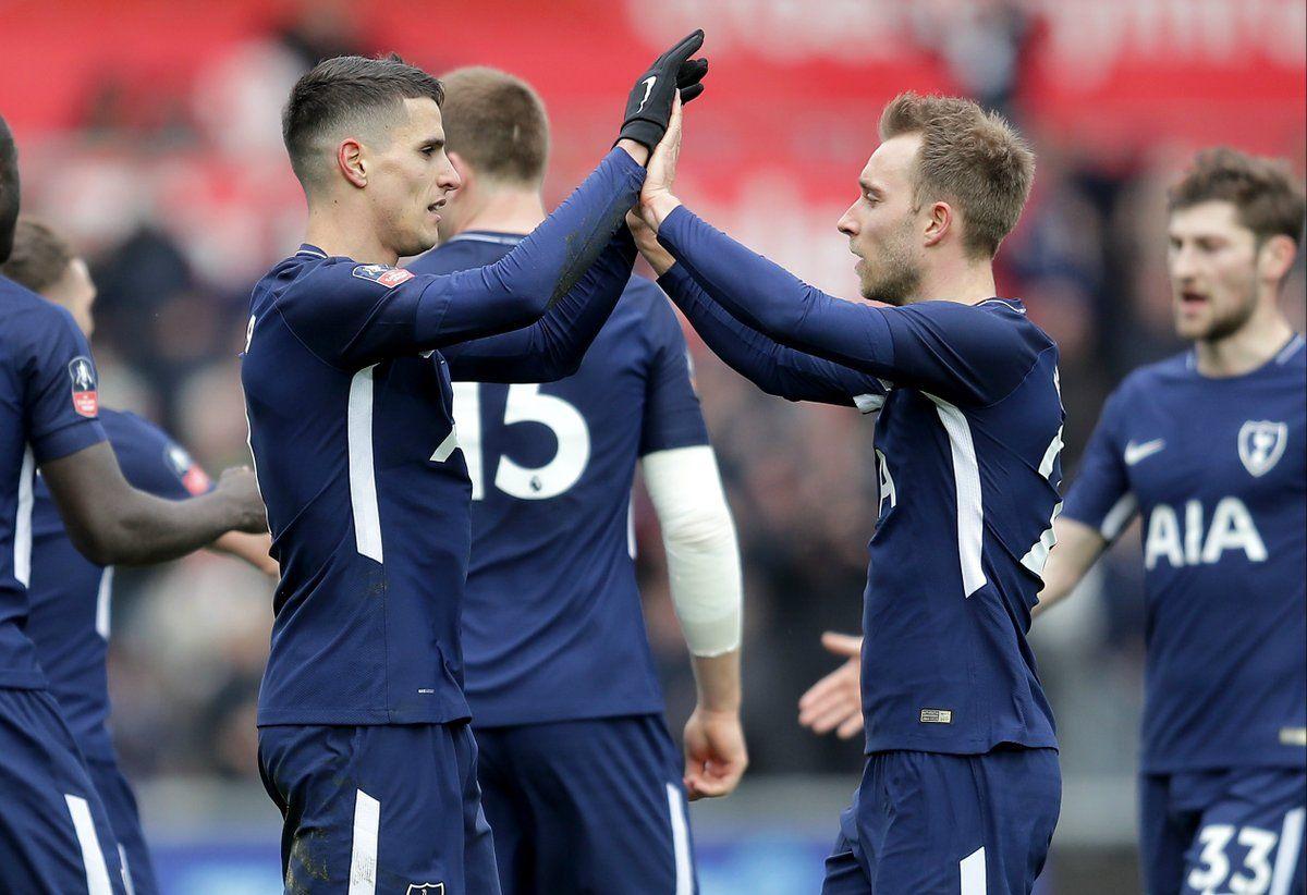 El conjunto de Pochettino se impuso al Swansea. Foto: @Spurs_ES