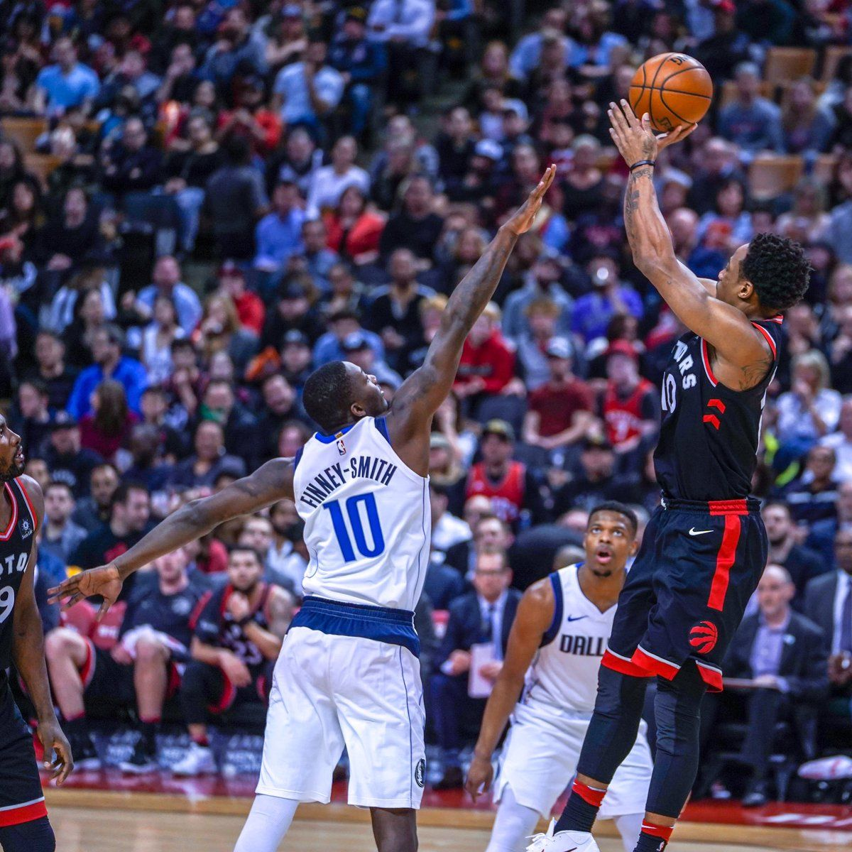 Los Raptors volvieron a ganar en la NBA.