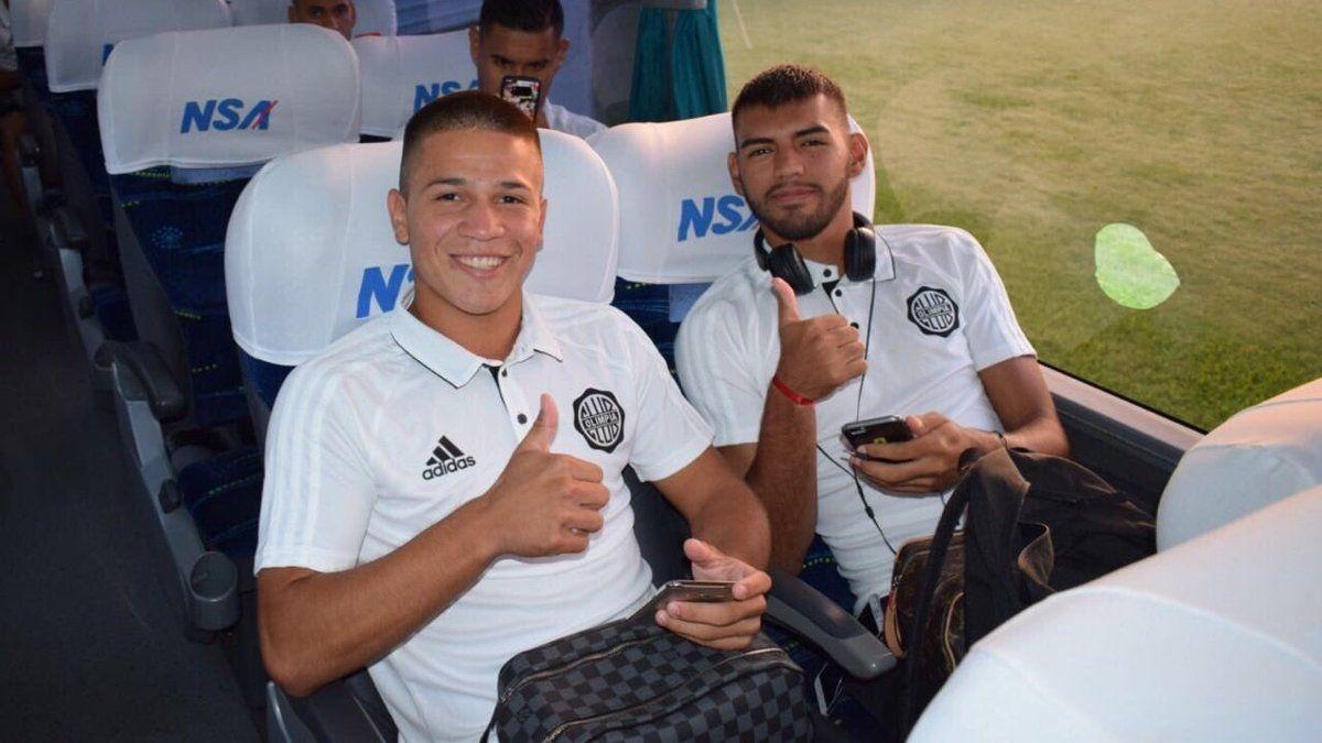 Hugo Quintana (izquierda) podría reemplazar a Amaguín. Foto: Prensa Club Olimpia