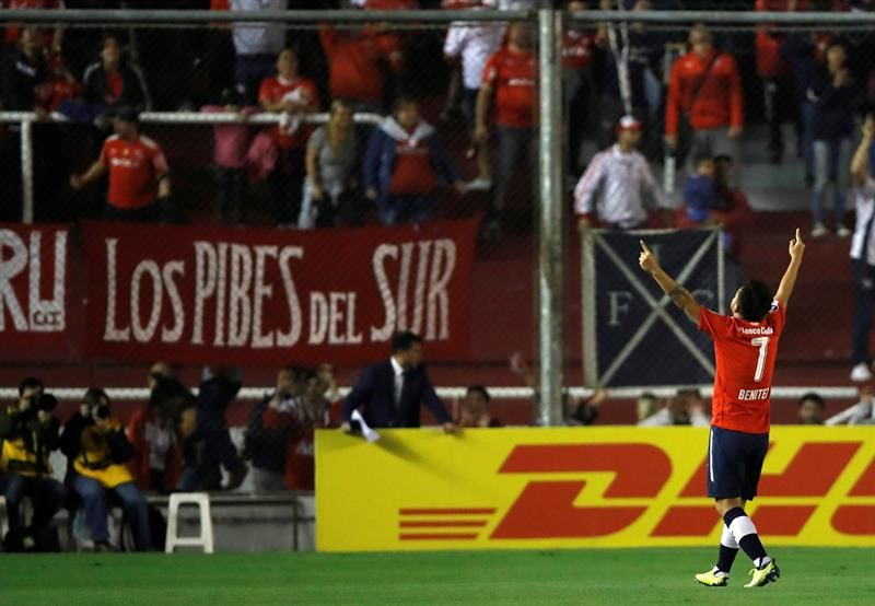Benítez hizo el único tanto del partido. Foto: EFE