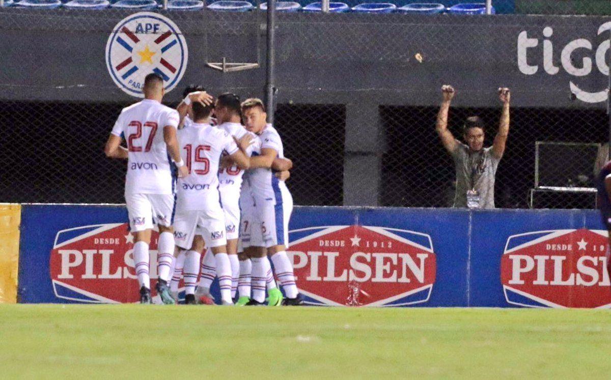 Nacional abre la fecha 21 del torneo contra Santaní. Foto: Gentileza