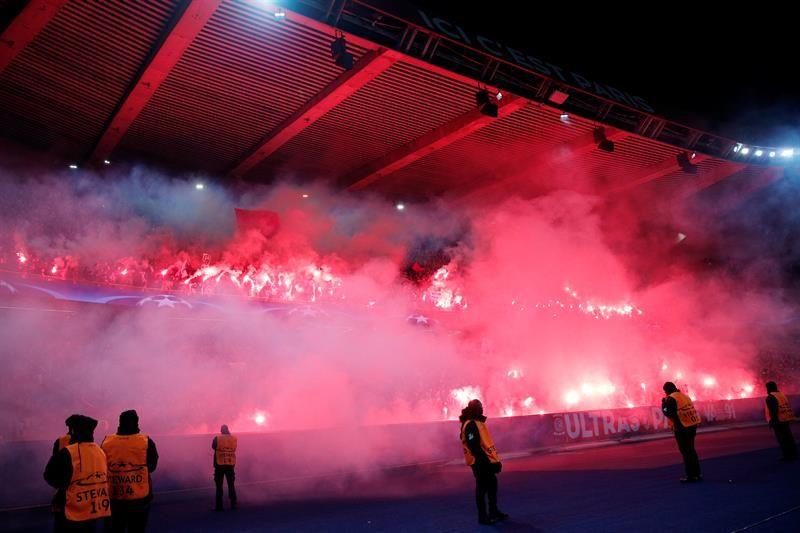 El conjunto parisino será investigado por la UEFA. Foto: EFE