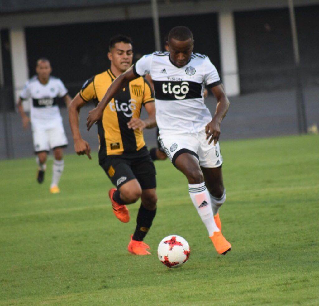 Cuero jugará su primer clásico en Paraguay. Foto: Prensa Club Olimpia