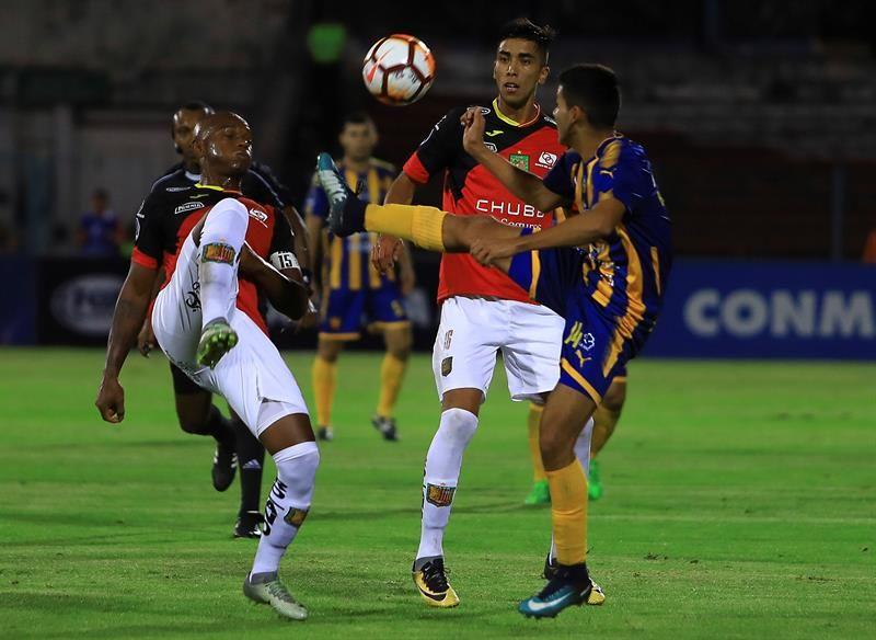 Sportivo Luqueño quedó fuera de la Copa Sudamericana. Foto: EFE
