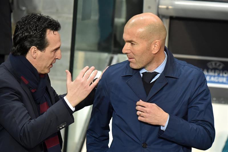 Emery: El Real Madrid es justo ganador de la eliminatoria. Foto: EFE
