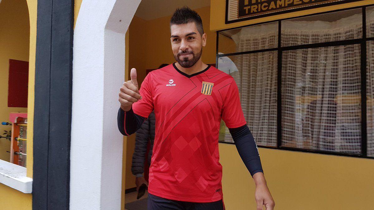 The Strongest es el nuevo club de Caballero.