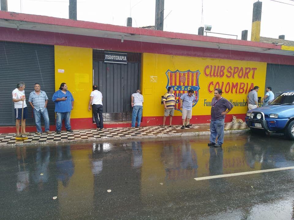 El club Sport Colombia. Foto: Fernando Digital - Twitter: @FndoDigital