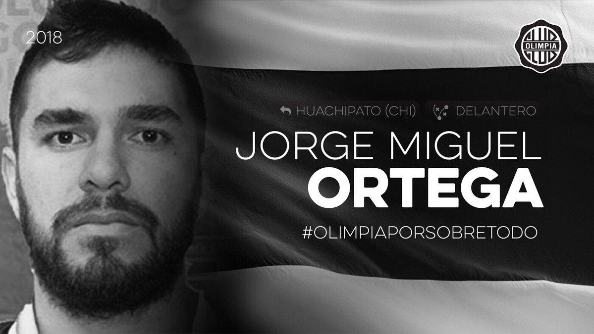 Olimpia retiene a Jorge Ortega tras la lesión de Chiquito Giménez. Foto: Gentileza