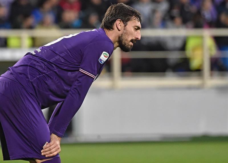 Astori murió este domingo mientras concentraba con el equipo. Foto: EFE