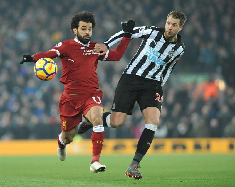 Salah y Mané le dan el triunfo al Liverpool. Foto: EFE