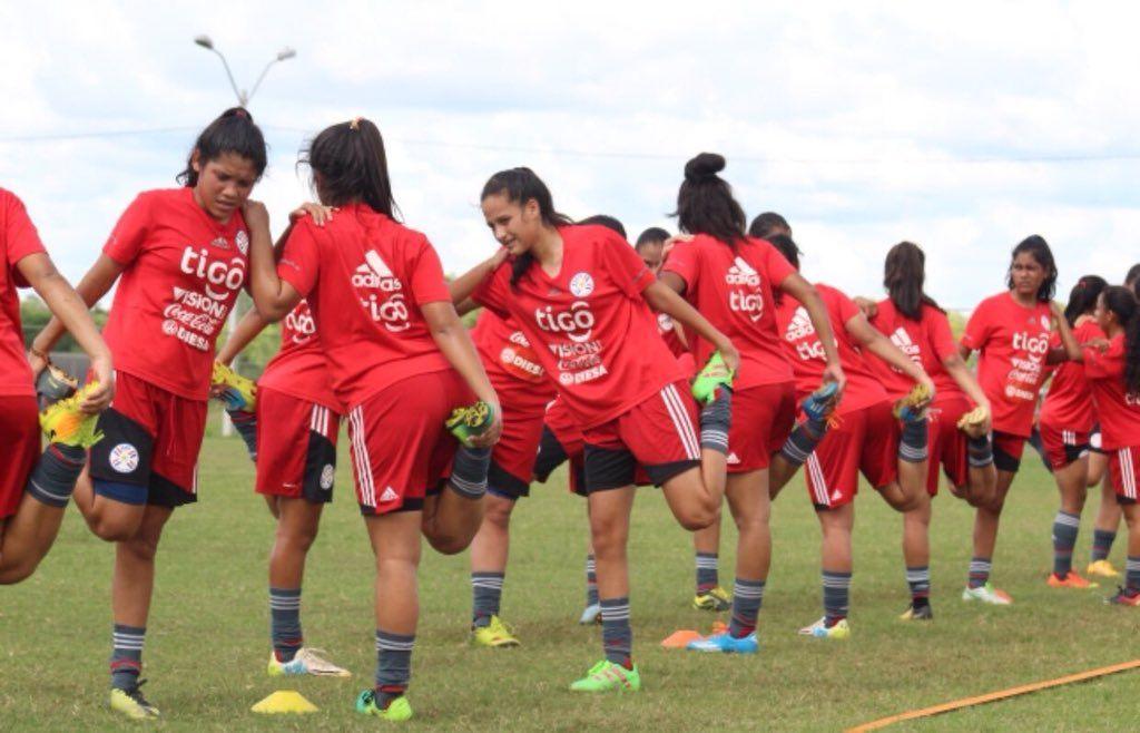 Rivales de Paraguay en el Sudamericano Sub 17 de fútbol femenino. Foto: @Albirroja