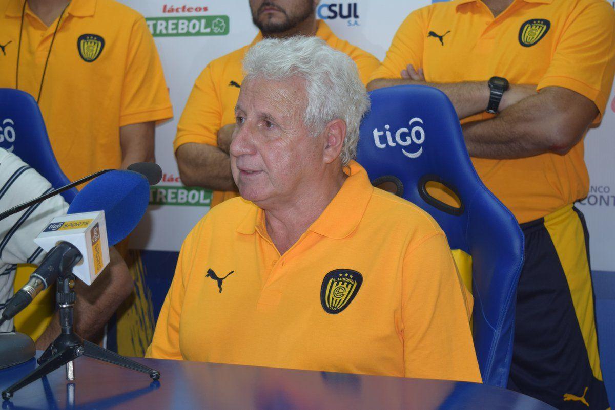 Eduardo Rivera: Estoy muy contento de volver a Luqueño una vez más. Foto: Gentileza