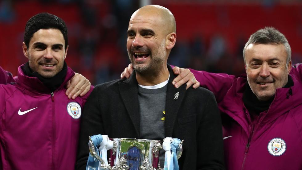 Guardiola espera seguir logrando más títulos.