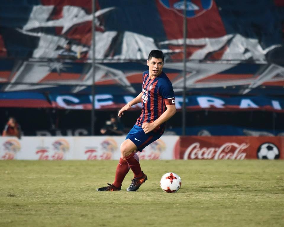 Liderazgo. Rodrigo Rojas es el referente del plantel. Foto: Prensa – Cerro Porteño.