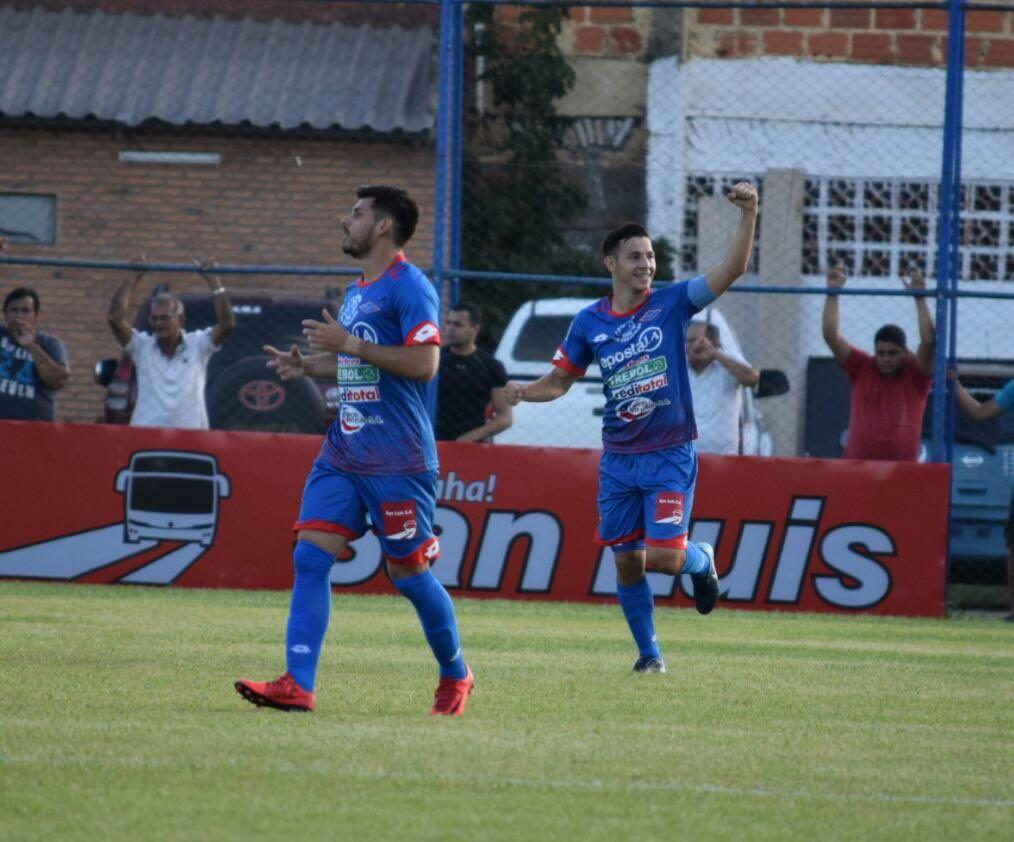 Independiente fue muy superior ante Luqueño. Foto: APF.