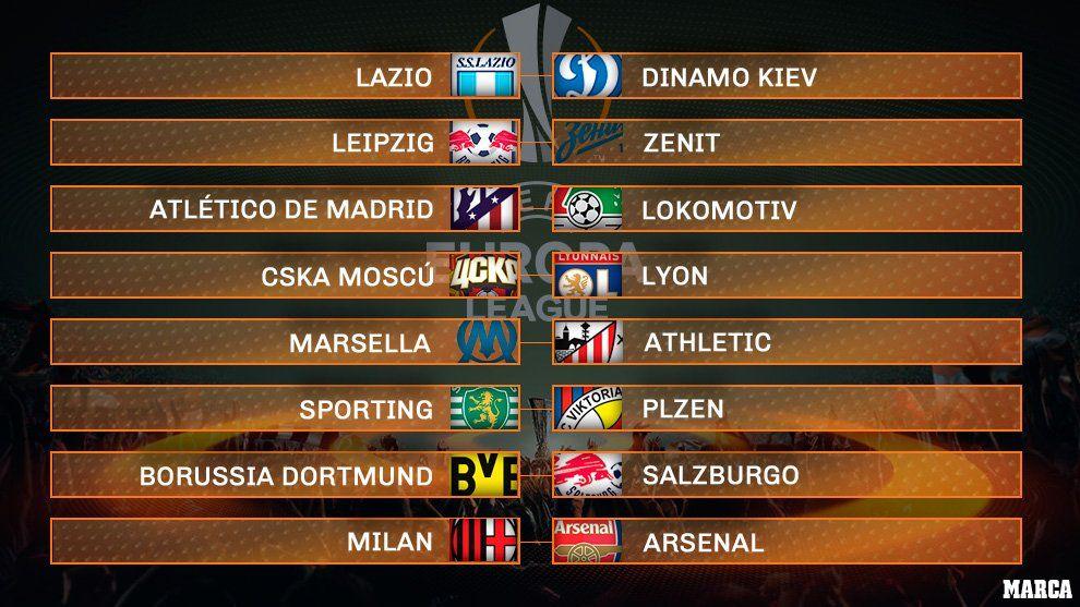 Milan-Arsenal, duelo estelar de los octavos de final