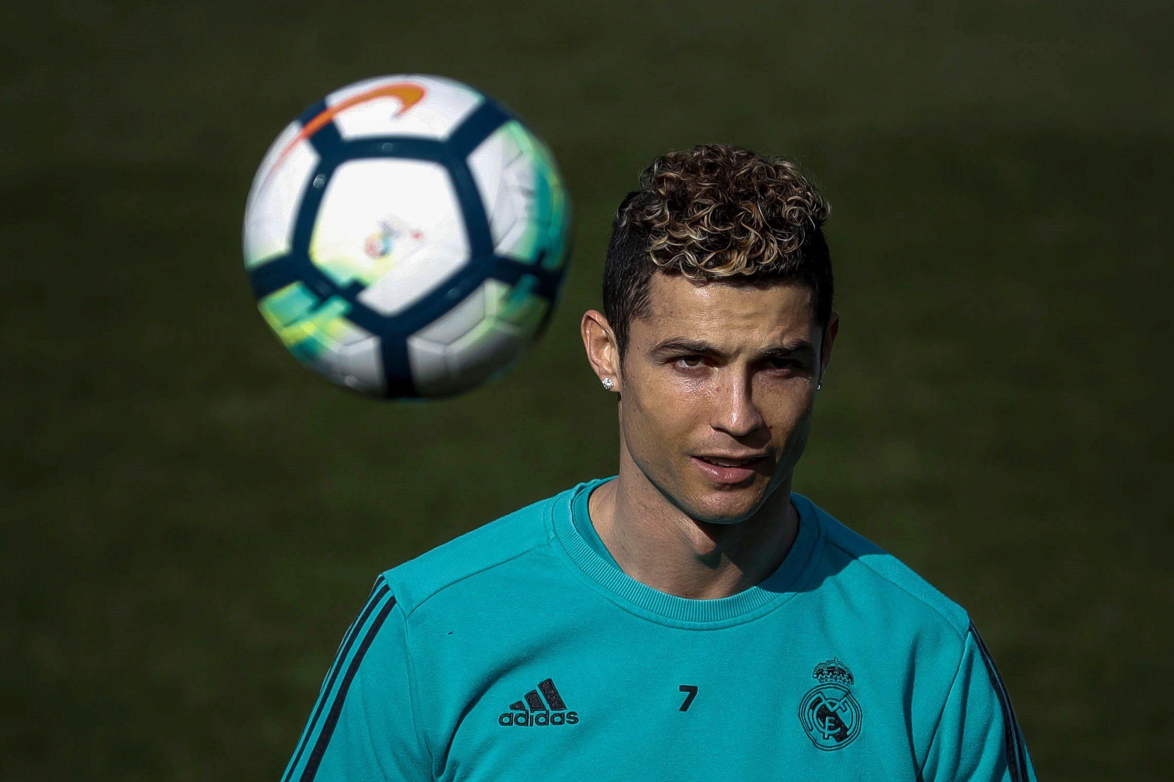 Cristiano Ronaldo no jugará ante el Leganés. Foto: EFE