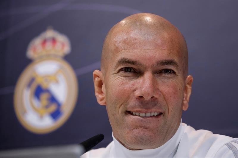 Zidane quiere quedarse mucho tiempo en Real Madrid. Foto: EFE